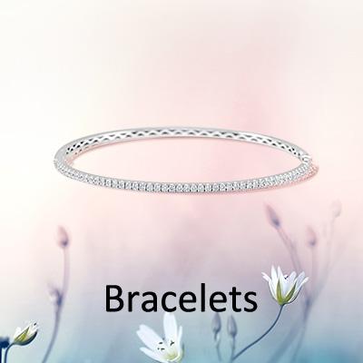 Banner Image 18k White Gold diamond bracelet